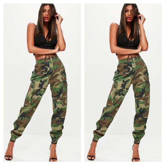 32e77614af Brand new! Women s camo joggers. M 5b1f2af3194dad6dcaf72f43. Other Pants ...